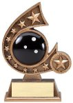 Resin Comet Series -Bowling Bowling Trophy Awards