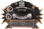 Resin Plate - Police Fire Police EMS