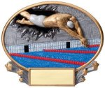 Motion X Oval -Swimming Male Swimming Trophy Awards