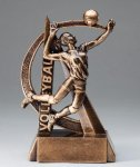 Ultra Action Resin Trophy -Volleyball Female Volleyball Trophy Awards